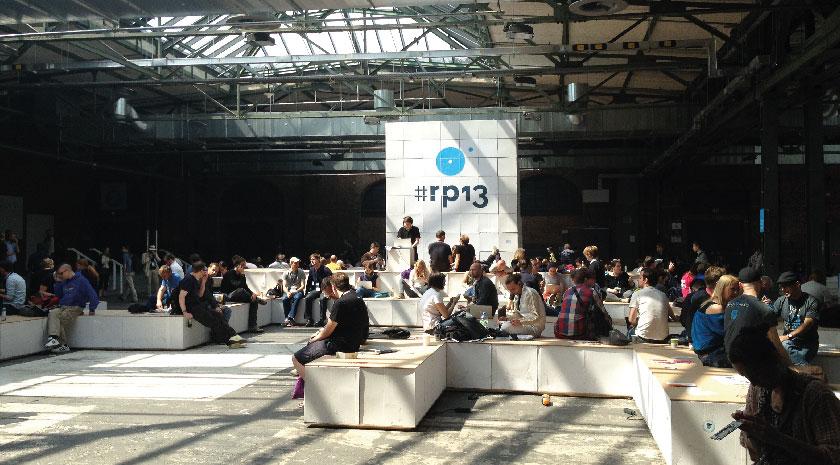 """""""Affenfelsen"""" auf der re:publica 2013"""